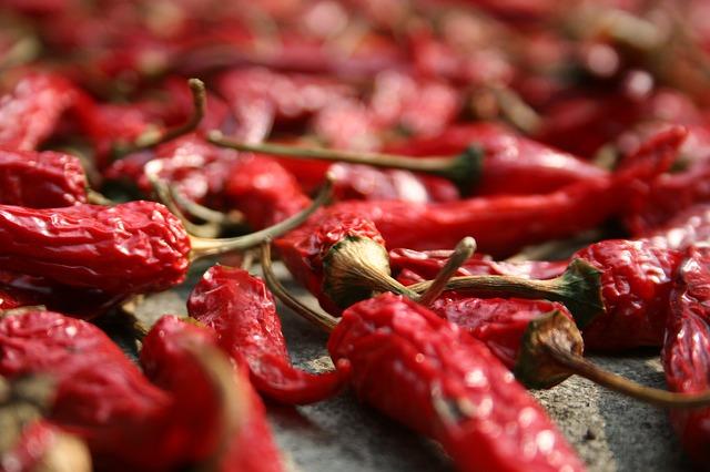 conservare il peperoncino