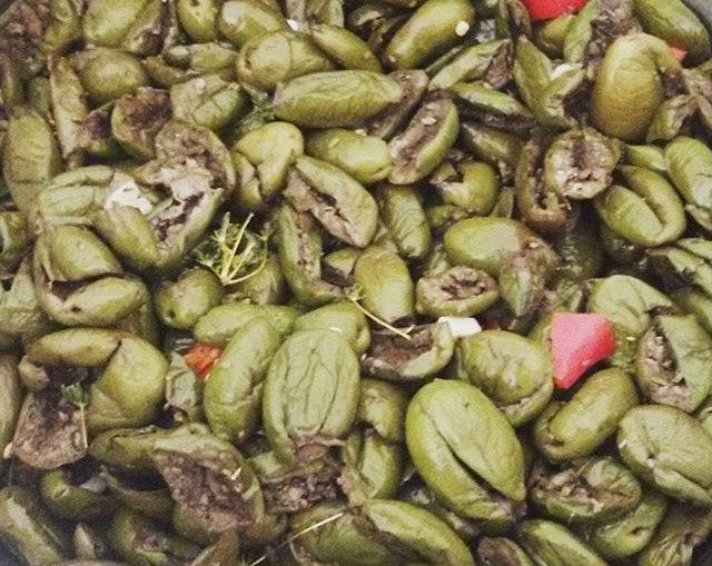 come fare le olive schiacciate